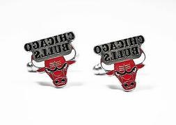 Chicago Bulls Cufflinks NBA Basketball