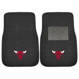 Chicago Bulls 2 Piece Embroidered Car Auto Floor Mats