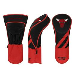 CHICAGO BULLS EMBROIDERED FAIRWAY HEADCOVER INDIVIDUAL NEW W