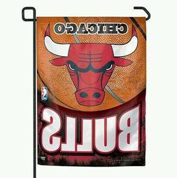 CHICAGO BULLS GARDEN FLAG 11x15 BANNER OUTDOOR RATED WEATHER