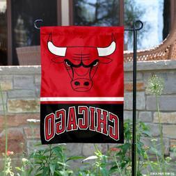 Chicago Bulls Garden Flag and Yard Banner