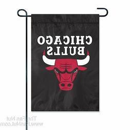 Chicago Bulls GARDEN Window Flag Banner Applique Embroidered