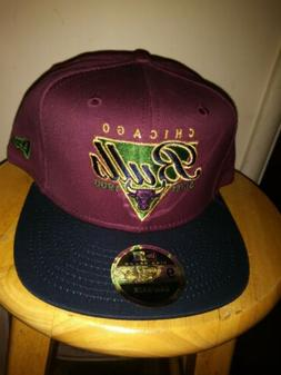 Chicago Bulls Gold Hat New Era High Crown Cap SnapBack NBA M