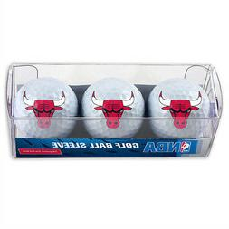 Chicago Bulls Golf Balls 3 Pack
