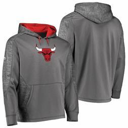 Chicago Bulls Grey Armor 5 Majestic Polyester Hoodie Sweatsh