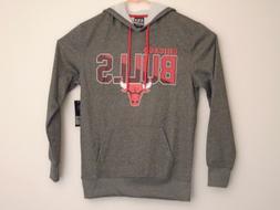 NBA Chicago Bulls grey sweatshirt hoodie medium