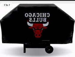 "Chicago Bulls Grill Cover 68"" x 21"" x 35"" Durable Vinyl New"