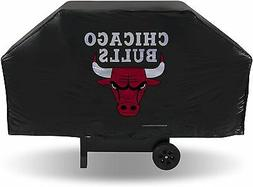 "Chicago Bulls Grill Cover 68"" x 21"" x 35"" Fits Most Large Gr"