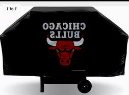Chicago Bulls Heavy Duty Thick Barbecue Grill Cover New Auth