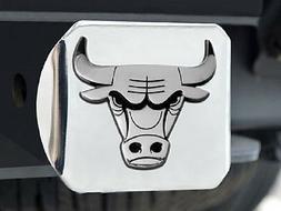Chicago Bulls Heavy Metal Trailer Hitch Cover  NBA Car Auto