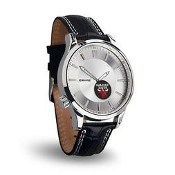 Chicago Bulls Icon Men's Watch  Jewelry Leather Stainless St