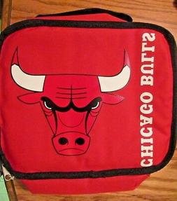 CHICAGO BULLS Insulated Lunch Box~ NEW w/tags