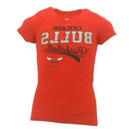 NBA Chicago Bulls Kids Youth Girls Size 100% Cotton T-Shirt