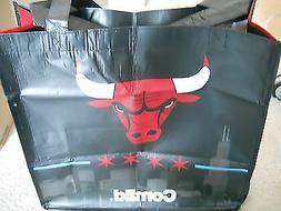 CHICAGO BULLS LARGE FOLDABLE TOTE BAG CARRIER SGA 2012-2013
