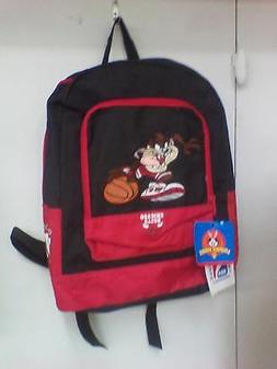 Chicago Bulls Looney Tunes Backpack And Red Bulls Kids Hat