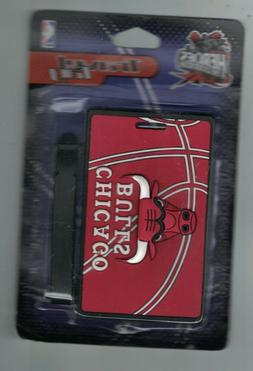 Chicago Bulls Luggage Travel Tag New Unused Heroes of the Lo