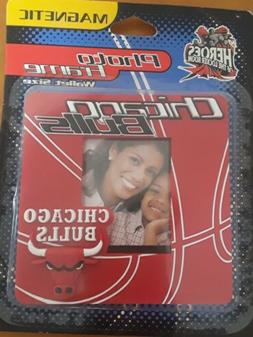 Chicago Bulls Magnetic Photo Picture Frame Wallet Size 1998