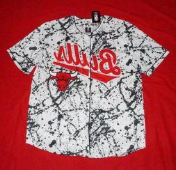 NBA Chicago Bulls Men's XL Baseball Jersey Shirt Officially
