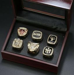 CHICAGO BULLS Michael Jordan NBA Championship Ring Set!!! SH