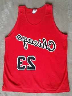 Chicago Bulls Michael Jordan Rookie year vtg style Jersey Ta