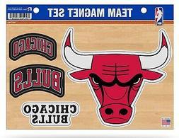 Chicago Bulls Multi Die Cut Magnet Sheet Auto Home Heavy Dut