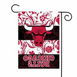 Chicago Bulls NBA 13x18 Double Sided Polyester Outdoor Garde