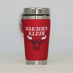 Chicago Bulls Mugzie NBA 16oz Travel Tumbler Coffee Mug Cup