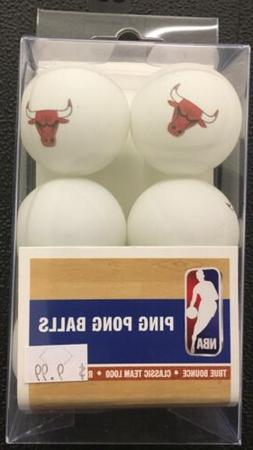 Chicago Bulls NBA  6-Pack Ping Pong Balls New In package