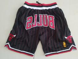 Chicago Bulls Vintage Basketball Game Shorts NBA Men's NWT S