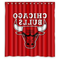 Chicago Bulls NBA Basketball Shower Curtain Limited Edition