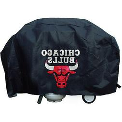 Chicago Bulls Official NBA Deluxe Grill Cover by Rico Indust