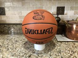 chicago bulls nba final game ball leather