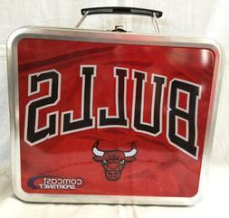 Chicago Bulls NBA Metal Lunch Box