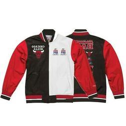 Chicago Bulls NBA Mitchell & Ness Men's Black Men Jacket