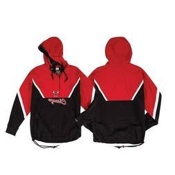 Chicago Bulls NBA Mitchell & Ness Men's Red Men Jacket