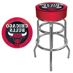 Chicago Bulls NBA Padded Swivel Bar Stool