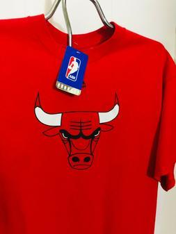 Majestic Chicago Bulls NBA T-Shirt w/ FREE Bulls Tote bag in