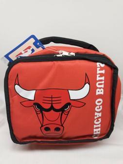 Chicago Bulls NBA Team Logo Soft Bag Lunch box - New