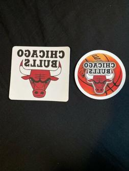 Chicago Bulls Official NBA 2 Acrylic Car Magnets  by Wincraf