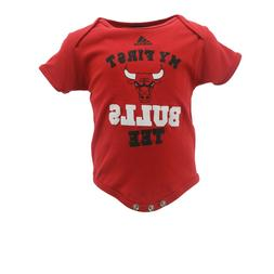 Chicago Bulls Official NBA Apparel Baby Infant Size Pajama S