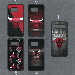 Chicago Bulls Phone Case For Samsung Galaxy S20 S10 S9 S8 No
