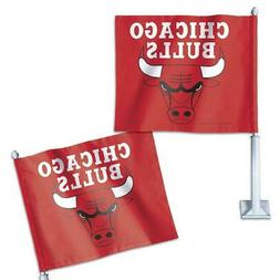 Chicago Bulls Red Car Flag NBA Team Pride Officially License