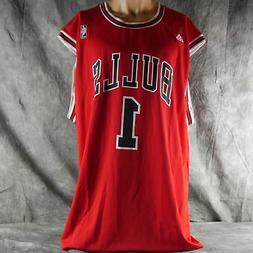 Adidas Chicago Bulls Red Replica Jersey