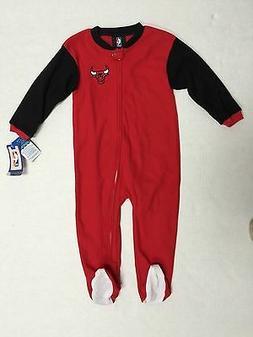 Chicago Bulls NBA Team Apparel infant official Sleeper Bodys
