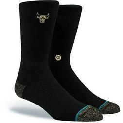 chicago bulls trophy crew socks