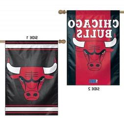 Chicago Bulls WC Garden Flag Premium 2-Sided Outdoor House B