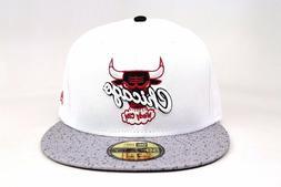 Chicago Bulls White Gray Spec AJ IV V White Cement OG New Er