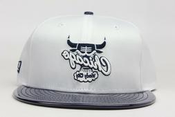 Chicago Bulls White Nylon Navy Leather Win Like 82 New Era 9