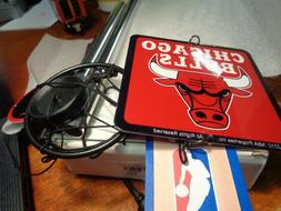 Chicago Bulls Wind Chimes NIB