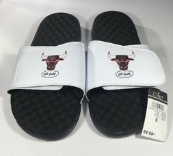 Chicago Bulls 'Windy City' ISlide Sandals Mens Sizes 9 & 11